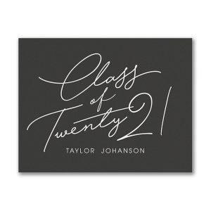 Advice for the Grad Graduation Advice Postcard Icon