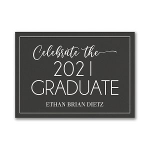 Celebrate the Grad Graduation Advice Card Icon