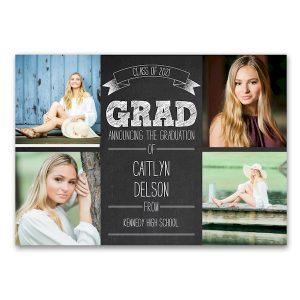 Celebrate the Graduate Graduation Announcement Icon