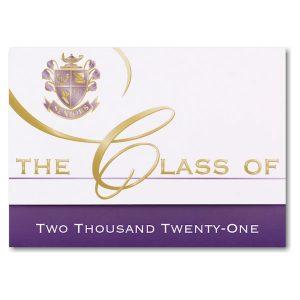 Custom Classic Graduation Announcement Icon