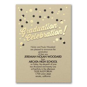 Grad Gleam Photo Graduation Announcement Icon