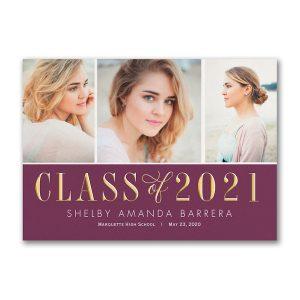 Graduation Snapshots Graduation Announcement Icon
