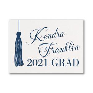 Graduation Tassel Graduation Advice Card Icon