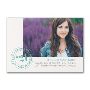 It's Official Photo Graduation Invitation Icon