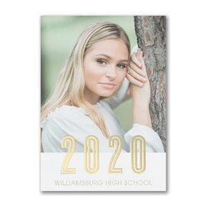 Photo Yearline Graduation Invitation Icon
