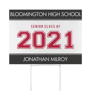 Bold Year Yard Sign Icon