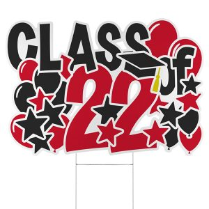 Bursting Achievement Yard Sign - 2022 Icon