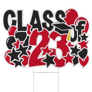 Bursting Achievement Yard Sign - 2023 Icon