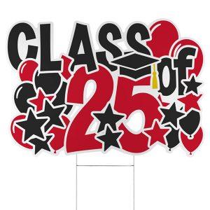 Bursting Achievement Yard Sign - 2025 Icon