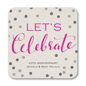 Celebrate Dots - Coaster Icon