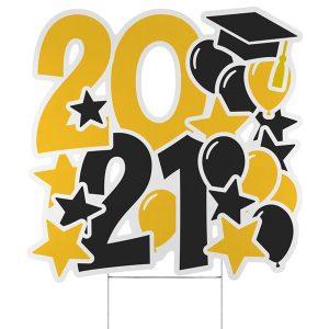 Festive Year Yard Sign - 2021 Icon