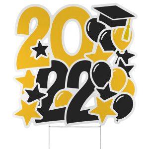 Festive Year Yard Sign - 2022 Icon