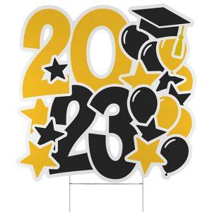 Festive Year Yard Sign - 2023 Icon