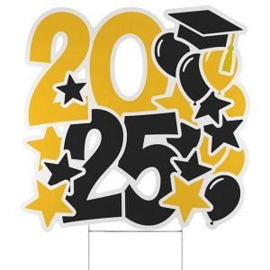 Festive Year Yard Sign - 2025 Icon