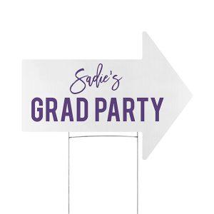 Grad Hour Yard Sign Icon