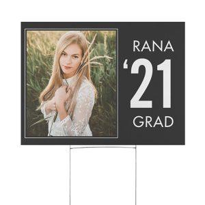 Graduation Edict Yard Sign Icon