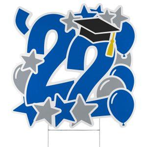Graduation Feat Yard Sign - 2022 Icon