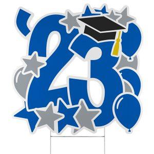 Graduation Feat Yard Sign - 2023 Icon