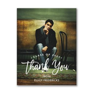 Modern Appreciation - Photo Thank You Postcard Icon