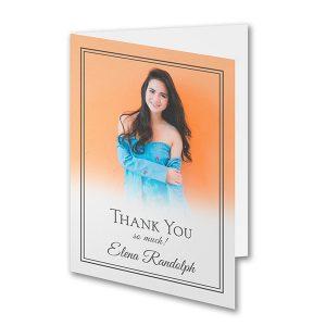 Ombre Gratitude - Photo Thank You Note Icon
